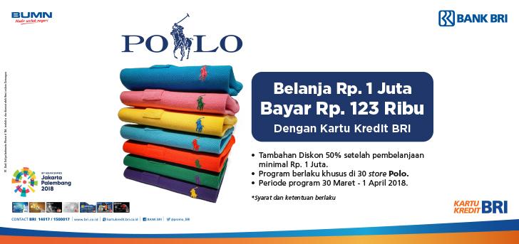 Promo BRI - Promo Belanja di Outlet Polo Menggunakan Kartu Kredit BRI d27643860d