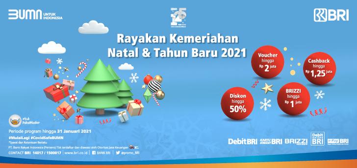 Promo Bri Promo Bri Spesial Natal Dan Tahun Baru 2021