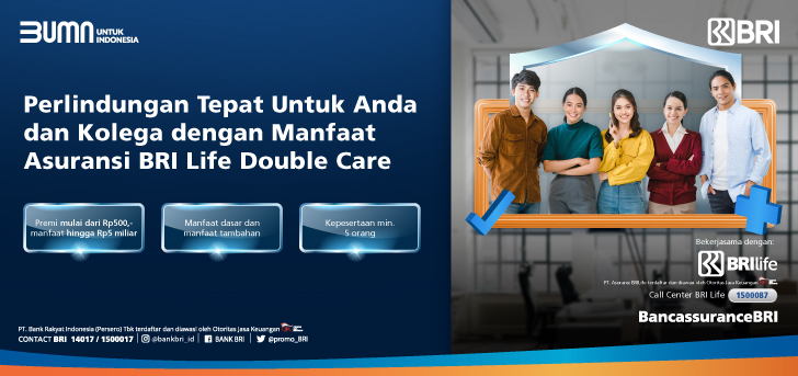 Promo Bri Asuransi Bri Life Double Care